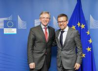 Visit of Wilhelm Molterer, Managing Director of the EFSI, to the EC