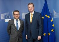 Visite de Pavel Bělobrádek, vice-Premier ministre tchèque et ministre des Sciences, de la Recherche et de l'Innovation, à la CE