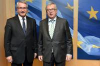 Visit of Philippe Richert, President of the Regional Council of Alsace-Champagne-Ardenne-Lorraine, to the EC