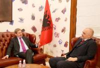 Visit of Johannes Hahn, Member of the EC, to Albania
