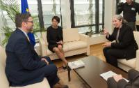 Visit of members from Eurofedop and the EUD, to the EC