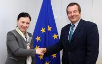 Visite of Cobus de Swardt, directeur général de Transparency International (TI), to the EC