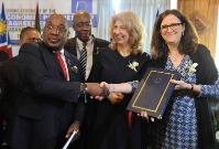 Visit of Cecilia Malmström, Member of the EC, to Botswana