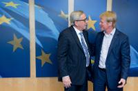 Visit of Reiner Hoffmann, President of the German Confederation of Trade Unions, to the EC