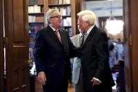 Visit of Jean-Claude Juncker, President of the EC, and Dimitris Avramopoulos, Member of the EC, to Greece