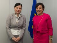 Press conference by Vĕra Jourová, Member of the EC, and Penny Pritzker, United States Secretary of Commerce, on the adoption of the EU-U.S. Privacy Shield