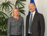 Visit of Magdalena Andersson, Swedish Minister for Finance, to the EC
