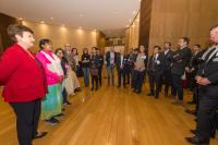 Visit of Radha Rani Sarker, 21 years old activist from Bangladesh, to the EC