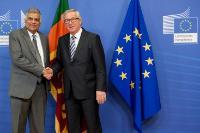 Visite de Ranil Wickremesinghe, Premier ministre sri-lankais, à la CE