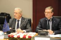 Participation of Dimitris Avramopoulos and Julian King, Members of the EC, at the G6 Meeting of Interior Ministers