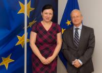 Visit of Aharon Leshno-Yaar, Ambassador of Israel to the EU and NATO, to the EC