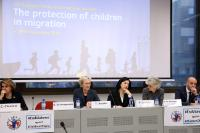 Participation of Dimitris Avramopoulos, and Vĕra Jourová, Members of the EC, at the 10th European Forum on the rights of the child