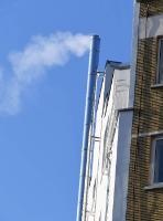 Des fumées de cheminées