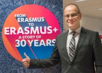 Launch ceremony of the 30th anniversary of the Erasmus programme