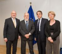 Visit of representatives of the International Air Transport Association to the EC