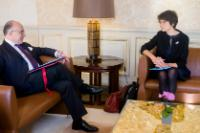Visit by Marianne Thyssen, Member of the EC, to Paris