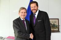 Visiste de Harald Mahrer, secrétaire d'Etat au sein du Ministère fédéral autrichien de la Science, de la Recherche et de l'Economie, à la CE