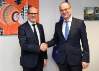 Visit of Lars-Christer Olsson, Chairman of the Board of the European Professional Football Leagues (EPFL), to the EC
