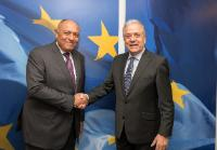 Visit of Sameh Shoukry, Egyptian Minister for Foreign Affairs, to the EC