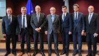 Visit of the Mayors of five Greek islands to the EC