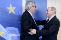 Visite de Gregor Gysi, président du Parti de la gauche européenne, à la CE