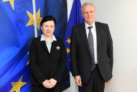 Visit of José Manuel García Collantes, President of the Council of the Notariats of the European Union (CNUE), to the EC
