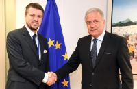 Visite d'Urmas Reinsalu, ministre estonien de la Justice, à la CE