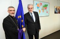 Visit of Shahan Sarkissian, Archbishop of Syria, to the EC
