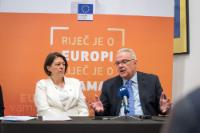 Visit by Neven Mimica and Violeta Bulc, Members of the EC, to Croatia