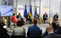 Visite de Johannes Hahn, membre de la CE, en Ukraine