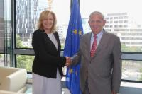 Visit of Jacques Mézard, French Minister for Territorial Cohesion, to the EC