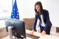 Entrée en fonction de Mariya Gabriel, membre de la CE chargée de l'économie et la société numérique