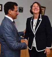Visit of Mubarak Al Mansoori, Governor of the Central Bank of the United Arab Emirates, to the EC