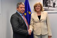 Visit of Florian Bodog, Romanian Minister for Health, to the EC