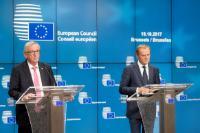 Conseil européen de Bruxelles, 19-20/10/2017