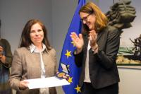 Presentation of the 20 years' service medals at DG TRADE