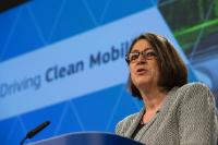 Press conference following the weekly College meeting by Maroš Šefčovič, Vice-President of the EC and Miguel Arias Cañete, Violeta Bulc, and Elżbieta Bieńkowska, Members of the EC, on the Mobility and Climate Change package