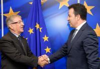 Visite de Niko Peleshi, ministre albanais de l'Agriculture et du Développement rural, à la CE