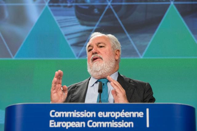 Press conference by Miguel Arias Cañete, Member of the EC, on the State of the Energy Union