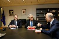 Visit of Leo Brincat, Member of the European Court of Auditors, to the EC