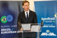Evénement de lancement de la carte d'investissements européens au Brésil