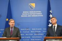 Visit by Johannes Hahn, Member of the EC, to Bosnia and Herzegovina