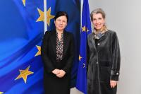 Visit of Christiane Wendehorst, President of the European Law Institute (ELI), to the EC