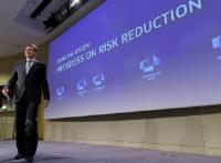Press conference by Valdis Dombrovskis, Vice-President of the EC, on the progress in tackling of non-performing loans to support the risk-reduction agenda in the banking sector