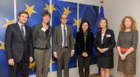 Visit of representatives from AIM, FoodDrinkEurope and Eurocommerce, to the EC