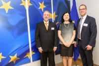 Visit of representatives of Sovy Ltd, to the EC