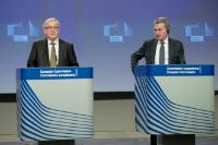 Press conference by Jean-Claude Juncker, President of the EC, and Günther Oettinger, Member of the EC, on the conclusions of the weekly meeting of the EC College