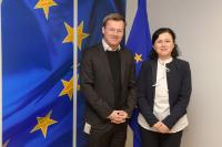 Visit of Jesper Brodin, President and CEO of IKEA Group, to the EC
