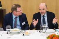 Participation of Pierre Moscovici, Member of the EC, at a meeting on the CCCTB