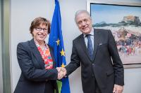 Visit of Catherine De Bolle, General Commissioner of the Belgian federal police, newly appointed Executive Director of Europol (as of 01/05/2018), to the EC.
